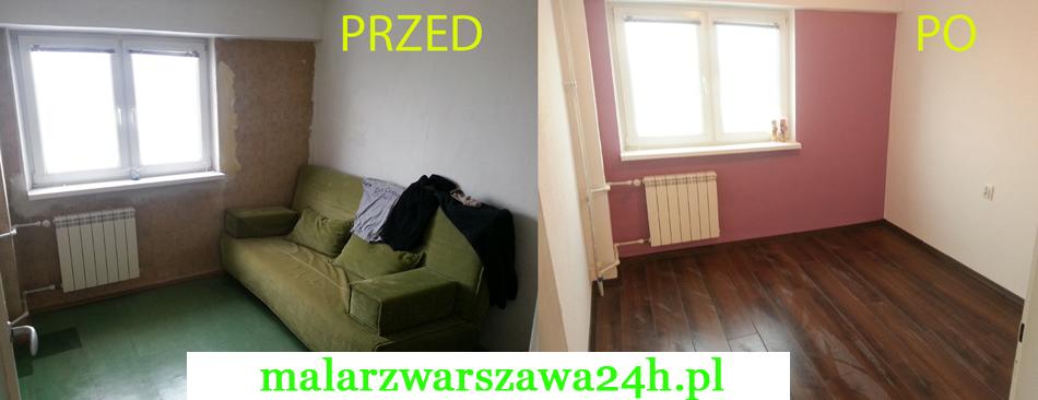 Malowanie Mieszkania Pokoju Przed Po Kolory Do Salonu Sypialni Dzieci
